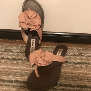 Steve Madden Pink Rose Sandals